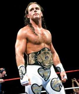 Shawn-Michaels-Wearing-Belt-in-Ring